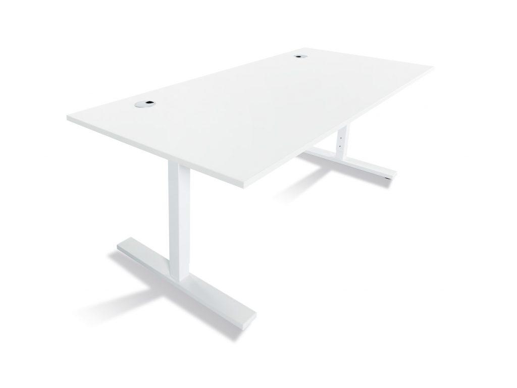 Höj- och sänkbart skrivbord för kontoret