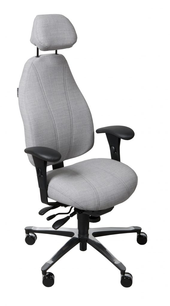 Malmstolen 4000 HÖG hjälper dig att sitta bekvämt hela dagen!