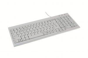 Det ergonomiska tangentbordet som hjälper dig - Space saver